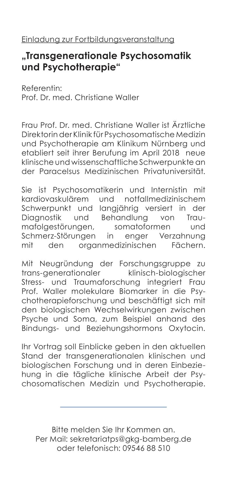 20191119 Fortbildungsveranstaltung Steigerwaldklinik0002